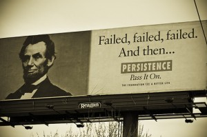 Lincoln Billboard