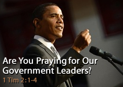 Are You Praying for President Obama?